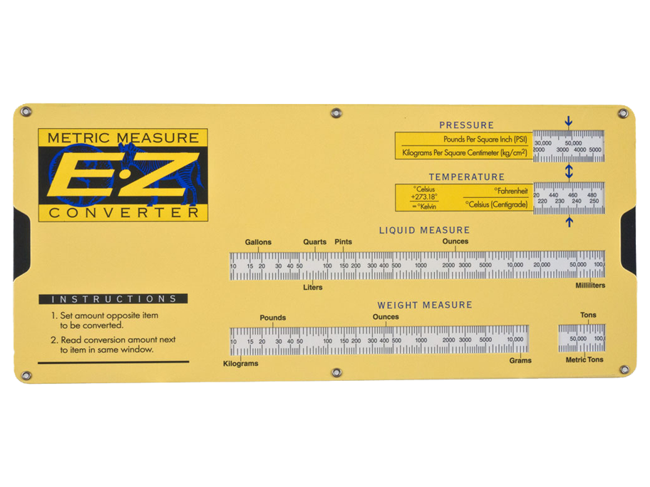 E-Z Metric Measurement Converter