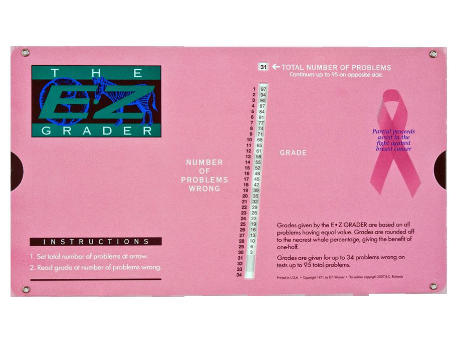 E-Z Grader Pink
