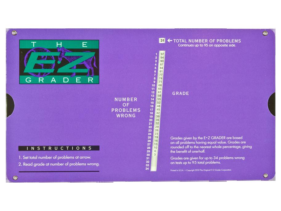 E-Z Grader Purple