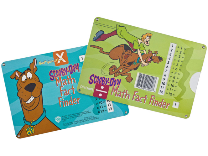 Scooby-Doo!® Math Fact Finder: Multiplication and Division