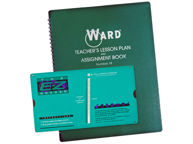 E-Z Grader Ward® Lesson Plan Combo Pack