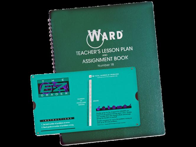 E-Z Grader Ward® Lesson Plan Combo Pack