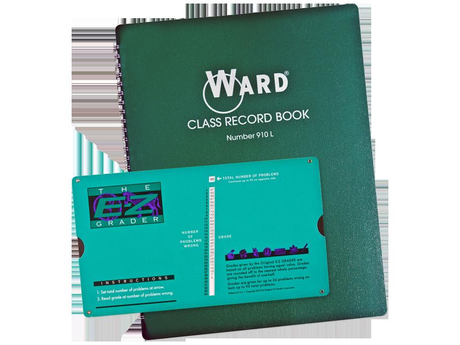E-Z Grader Ward® Record Book Combo Pack