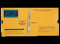 Large-Print Yellow E-Z Grader